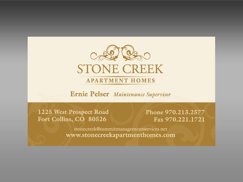 business card design decorative
