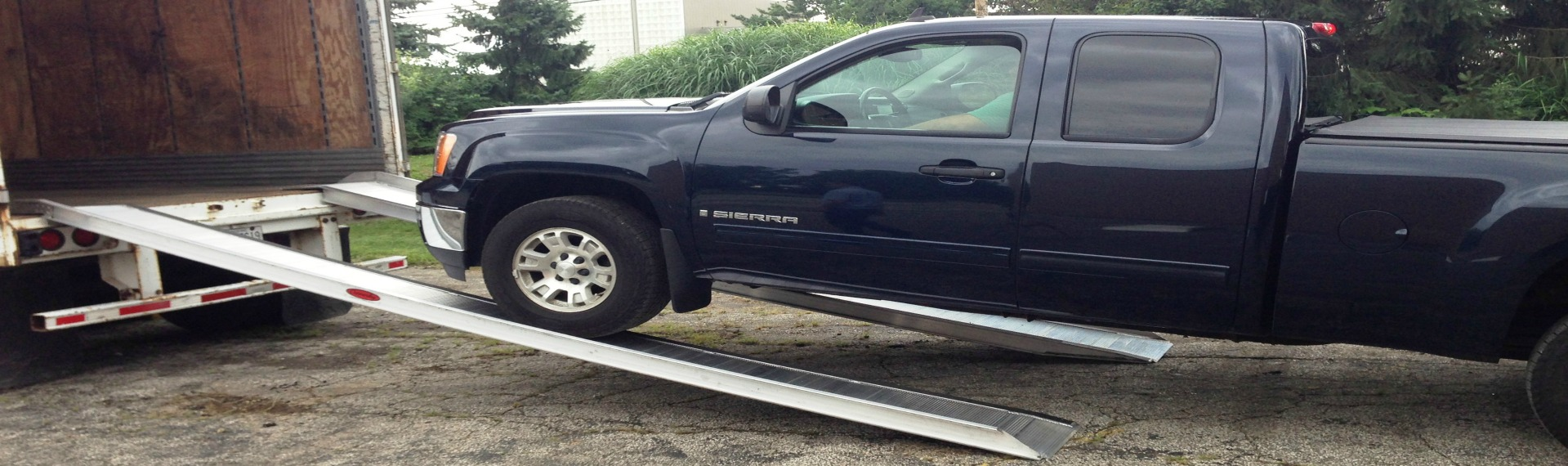 Metal Truck Ramps | Portable Loading Dock Equipment