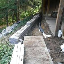 Drainage System being installed by AllScapes Ohio