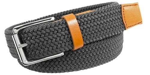 Men's Braided Leather Belt offered by Status Leather Goods