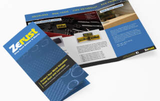 Zerust Brochure | Graphic Design Companies Ohio