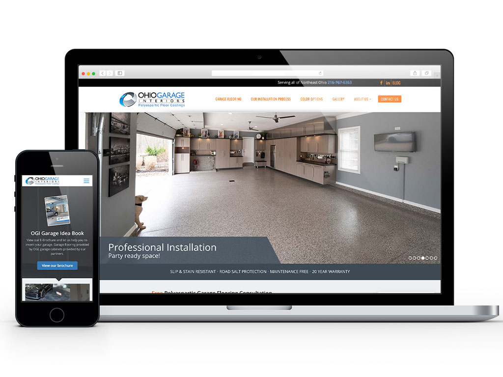 web-design-ohio-garage-interiors