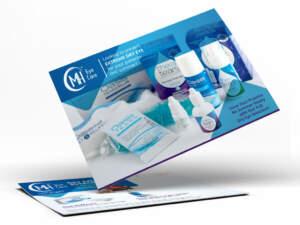 A brochure example from ADVAN's design portfolio   Branding agency Akron